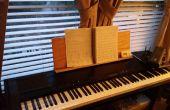 Maken van een vervangende partituur staan voor Korg dp - 3000c elektronische piano