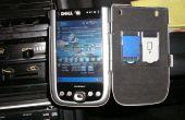 Auto PDA mount uit suiker vrije Altoids tin (in aluminium behuizing)