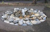 Verdwijnende Waterfontein
