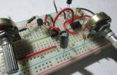 Basic (PWM) Motor snelheidscontrole met behulp van de 555 Timer ICs