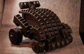 Cascos y armas reciclado