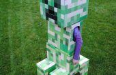 Telescopische Minecraft klimplant kostuum