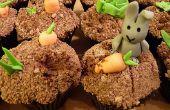 Schelms konijnen! (Cupcake recept en decoratie)