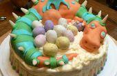 Hoe maak je een Cake van de draak