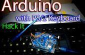 Arduino + PS/2-toetsenbord-gecontroleerde LED Flasher