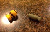 Maken van een Nuke (polymeer klei)