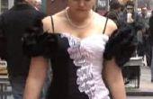 Hoe een oude 80's Prom jurk nemen en maken het 2008!