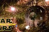 Gloeiende Death Star kerst Ornament