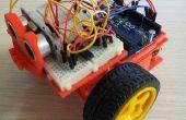 Auto speelgoed met arduino uno en 3dprinting