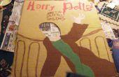 Harry Potter boek Cover kostuum