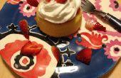 Hoe maak je aardbei shortcake in 10 minuten