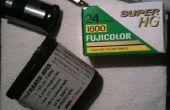 Hoe maak je zelfgemaakte 35mm Redscale film!!