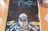 Acryl geschilderd Tron Legacy Poster