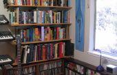 Hoe te installeren in de standaard-en-beugel boekenplanken