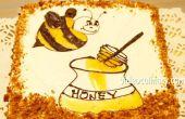 Honing laag Bee taart