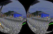 Virtuele realiteit Minecraft 1.8 met Google karton