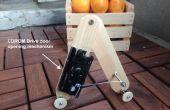 Robot - vanaf een CDROM Drive deur openingsmechanisme worm