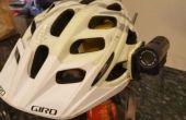 Fiets Camera helm monteren met behulp van Epoxy Putty