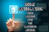Domotica met wifi, bluetooth en IR-afstandsbediening met behulp van arduino