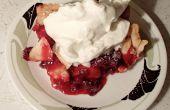 Wenkbrauw-raising Wild Cranberry taart