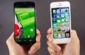 Wat te doen bij het verschuiven van iOS naar Android