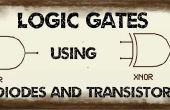 Logische poort met behulp van Diodes en Transistor
