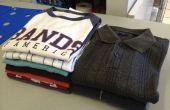 Hoe te vouwen van een Shirt (de Liberty Wasserij manier)
