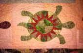 Schildpadden op wal