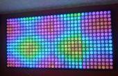 Een ander bord van vele ping-pong ballen