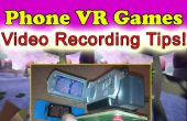 IPhone Android Google karton VR 3D Gaming Video-opname Rig!