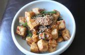 Hoe veranderen de textuur van tofu