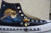 Personaliseren van schoenen met acryl