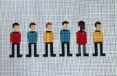 Star Trek Cross Stitch: The Original Series bemanning