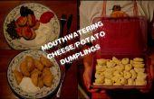 Overheerlijke kaas/aardappel dumplings