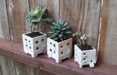 Mini appartement plantenbakken