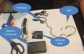 Bouwen van een XBMC/KODI remote aan Arduino, IR Sensor schild en VB.NET