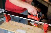 Hoe te doen een snelle ijzer wax op ski's