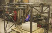 CNC machine voor het vormgeven van grote stukken piepschuim