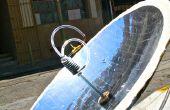 Bouwen van een parabolische zonne-Warmwaterboiler 123D met