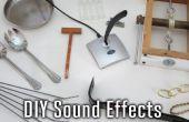 DIY geluidseffecten