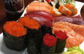 Zelfgemaakte Sushi Basics