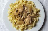 Slow Cooker kip dijen met olijven en venkel