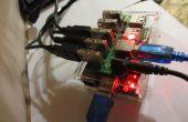 Raspberry Pi Torrent, Samba en DLNA met 3 + harde schijven