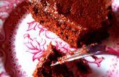 Maak een gluten vrije suiker vrije zuivel vrij (en nog nog heerlijke) chocoladetaart