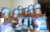 Coolste Zombie zes Pack Bud Light kostuum