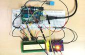 Temp & vochtigheid Sensor met LCD Disp & LED Indicator