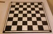 Maken van een $5 tegel schaakbord kerstcadeau
