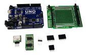 Met behulp van Arduino UNO als hoge resolutie 3-CH DAC's