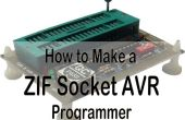 Universele programmer voor AVR van en S51 plus ZIF socket!