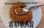 Ongebruikelijk gebruikt voor suiker
